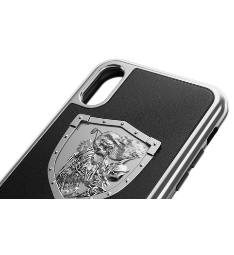 "buy iPhone X Case ""Heavy Metal Leather"""