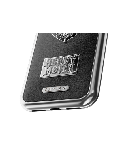 "iPhone X Case ""Heavy Metal Leather"" image"