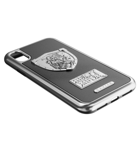 "iPhone X cover ""Heavy Metal Leather"""