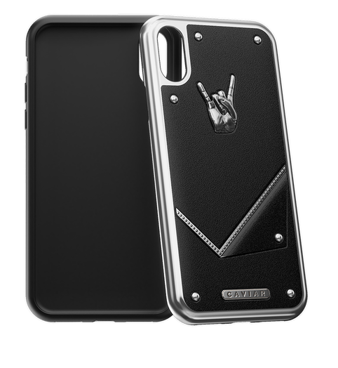 "iPhone X Case Titans of rock ""Rock Star"""