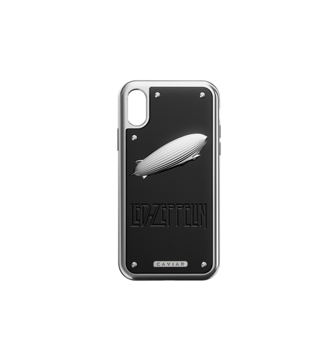 Led Zeppelin iPhone X case by Caviar