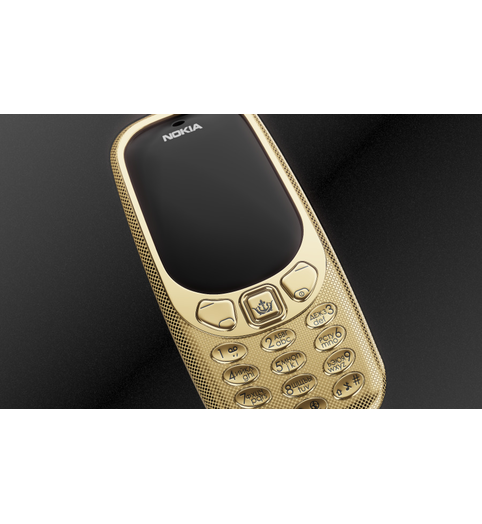 gold Nokia Putin-Trump Peacemakers by Caviar