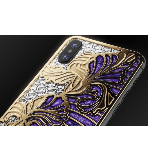 designer iPhone X Love Iris