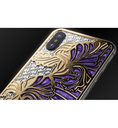 designer iPhone Xs Love Iris
