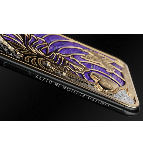 iPhone X Love Iris case