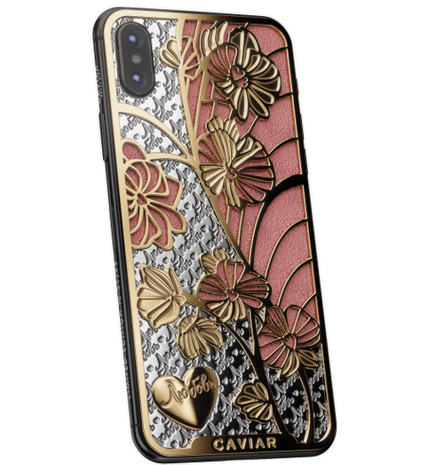 Buy Caviar iPhone X Love Orchids