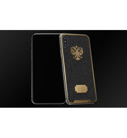 iPhone X Russia Caviar Black