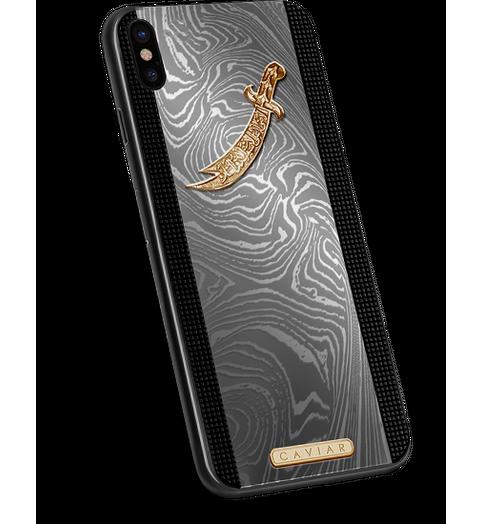 VIP iPhone Xs Zulficar in a titanium designer case