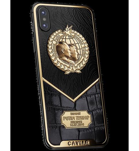 iPhone X Putin-Trump