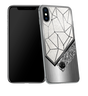iPhone X with Gemini Horoscope Symbol