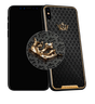 Caviar iPhone X Classic Corona Onyx Diamonds
