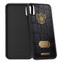 Caviar case Russia Alligatore Gold for iPhone X