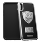 "iPhone X Case ""Heavy Metal Leather"""